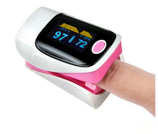 Cina Digital color display finger pulse oximeter YK - 80 for SPO2 and pulse check pemasok