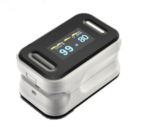 Cina Small Light Weight Home Healthcare pulse oximeter finger Color OLED Display pemasok